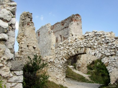 Čachtický hrad - palác
