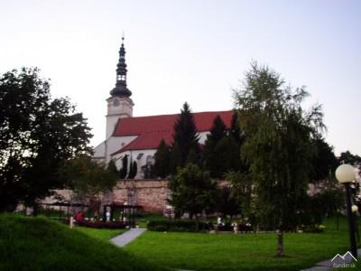 Nové Mesto nad Váhom - Rímsko-katolícky kostol