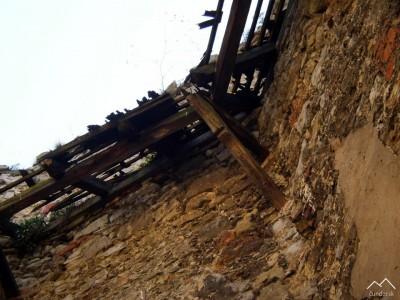 Beckov - kaplnka - pôvodný šindel