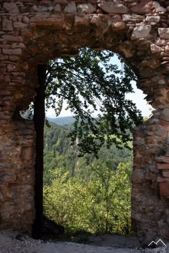 Hričov - vchod