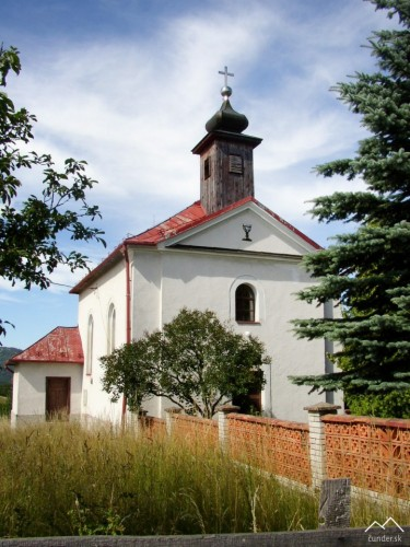 Kostol v obci Kopanice