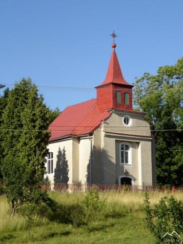Kostol v obci Domky