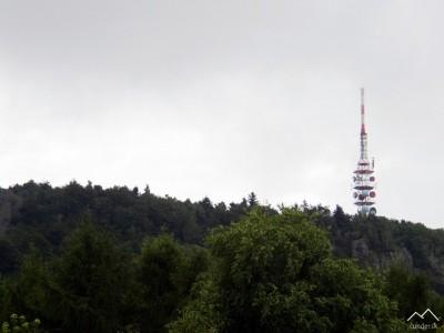 Vysielač na Sitne, 1009 m n.m.