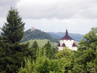 Banská Štiavnica - Nový zámok a kalvária