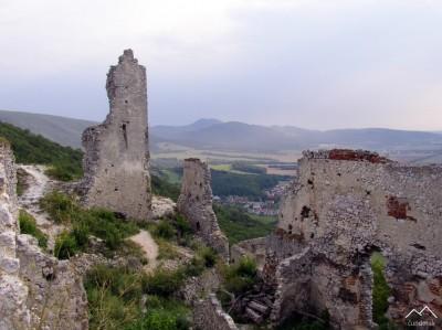 Čierna skala - Plavecký Hrad