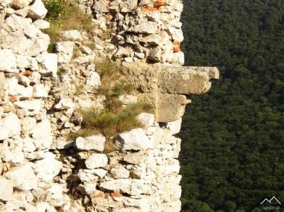 Hrad Ostrý Kameň - Renesančná konzola