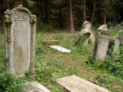 Dobrá Voda - židovský cintorín