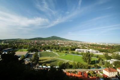 Nitra - vrch Zobor z Hradu