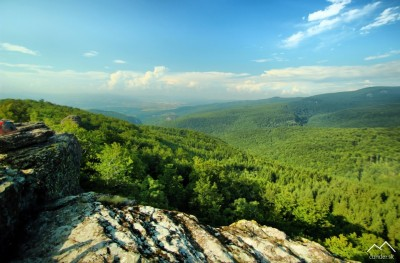 Panoráma z vrchu Buchlov
