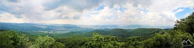 Pohľad z vrchu Žarnov