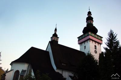 Kostol sv. Kataríny zo 14. storočia v Handlovej